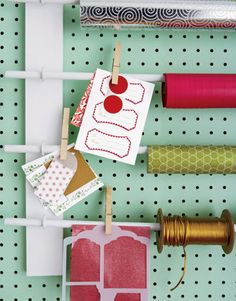 Build a Wrapping-Paper Rack