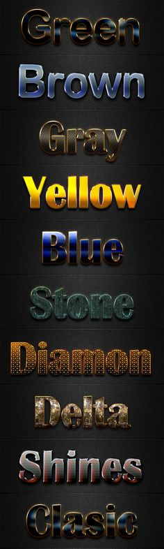 File Luxury Text Styles V19 by Alamsput Description:  File Luxury Text Styles V19 . This is a premium Adobe Photoshop layer styles. In this set includes source .PSD,.ASL