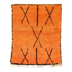 Vintage Moroccan Orange Azilal Wool Floor Rug, x – Carpet Texture Berber Carpet, Berber Rug, African Rugs, Orange Carpet, Textured Carpet, Orange Design, Carpet Runner, Rugs On Carpet, Carpets