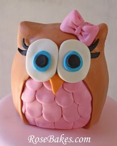 Baby Girl Purple and Teal Turquoise First Birthday Owl Party www
