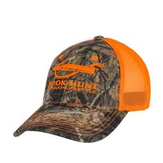 61b3fc3c14c Realtree Camo with Blaze Orange Meshback – Performance and Casual Outdoor  Gear