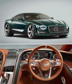 rogeriodemetrio.com: Bentley EXP 10 Velocidade 6 Concept