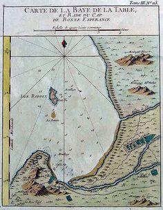Mapmaker: Bellin Title: Date; Old Maps, Antique Maps, Bonne Esperance, Cape Dutch, African Map, Victoria Falls, Cape Town, Childhood Memories, South Africa