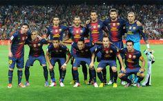 FC Barcelona Spain Soccer Team .