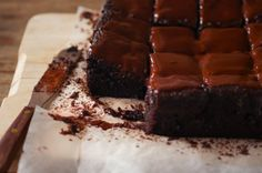 Coconut Milk Chocolate Cake