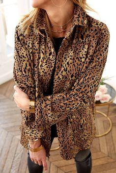Shop Audrey LBD.com - Leopard Jacket