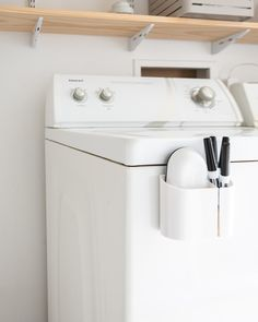 Here are eight tried-and-true methods, techniques, and tips that can help the planet because old ways of life never go out of style. Small Laundry Rooms, Laundry Room Organization, Laundry Room Design, Organization Ideas, Storage Ideas, Laundry Decor, Laundry Storage, Laundry Solutions, Laundry Hacks