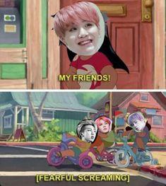 Meme BTS SUGA  Lilo and stitch