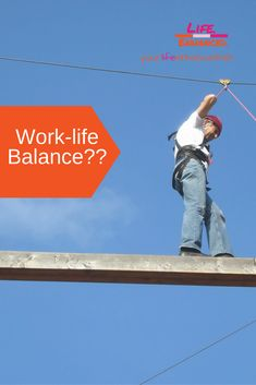 Are you striving for work-life balance? It's unachievable for most people, especially in today's business world. Finishing School, Positive Living, Work Life Balance, Continuing Education, Personal Development, Workplace, Life Lessons, Purpose, Coaching