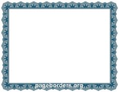 microsoft word certificate borders bordes para imprimir