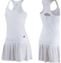 Fila tennis dress for Jelena Jankovic - Wimbledon 2013