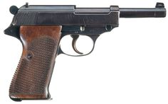 Rare Walther Model Semi-Automatic Prototype Pistol Serial Number 015