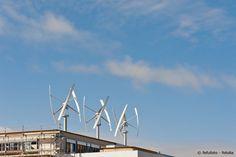 Vertikale Windkraftanlagen: Auch Windräder
