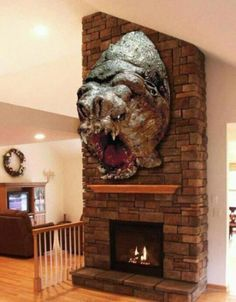 Star Wars hunting trophy. ALL OF MY WANT. This would be SO PERFECT in dad's house, with the carbonite coffee table too :p I'm just thinking up all kinds excuses to spend money huh?