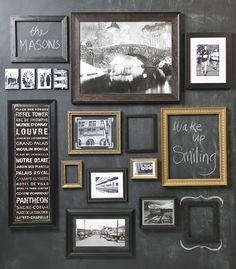 Create this amazing wall display for your own home with easy steps shown on our blog.