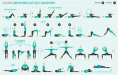 An All-Around Yoga Exercise: Salute to the Sun Yoga Flow Sequence, Yoga Sequences, Yoga Poses, Sequencing Cards, Yoga Anatomy, Breath In Breath Out, Deep Breath, Gentle Yoga, Hip Openers
