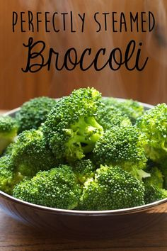 It Just Takes 7 Minutes to Make Perfectly Steamed Broccoli || A Less Processed Life