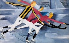 Per Krohg, Hockey 1918 United Nations Security Council, Paper Drawing, Illustrations And Posters, Hockey, Disney Characters, Fictional Characters, Sculpture, Drawings, Artist