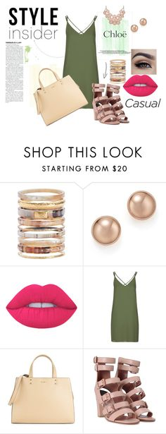"""""""Casual Friday"""" by shassydee on Polyvore featuring Chloé, Ashley Pittman, Bloomingdale's, Lime Crime, Topshop, Calvin Klein and Laurence Dacade"""