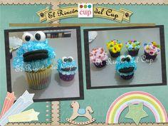 """Cupcakes Infantiles """"El Rincón del Cup"""""""