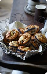 Oat, Banana and Date Muffins