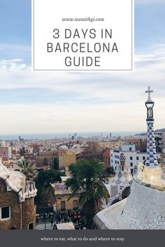 Planning a trip to the Catalan city of Spain? Here is my itinerary for spending 3 days in Barcelona. Barcelona Guide, Barcelona Spain, Spain Travel, Travel Guides, Paris Skyline, Infographic, Europe, Tea, City
