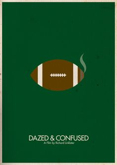 Dazed and Confused - Minimal Movie Poster by Brett Thurman Minimal Movie Posters, Minimal Poster, Film Posters, Art Posters, Excellent Movies, Good Movies, Dazed And Confused Movie, Comic Poster, Summer Painting
