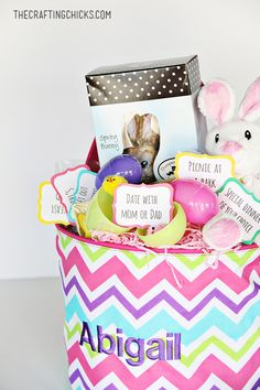 Free easter basket gift tags basket gift easter baskets and easter printable easter coupons gift basketsfree negle Image collections