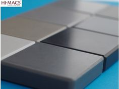 94 shades of Grey. Solid surface colors are limitless. #himacs