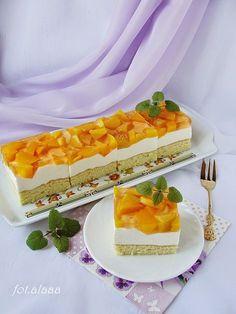 Polish Desserts, Polish Recipes, Polish Food, Chocolate Sweets, Yummy Cakes, Biscotti, Vanilla Cake, Waffles, Cheesecake