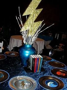 """Table inspired by Rick Riordan's """"The Lightning Thief"""" for all you Percy Jackson fans."""