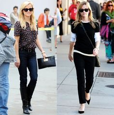 Reese Witherspoon; Casual Friday Inspiration