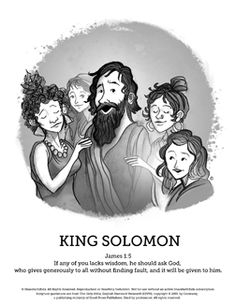 the wisdom of solomon sunday school coloring pages if you are looking for a creative