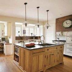 32 Magnificient Small Kitchen Design Ideas For Small Home, The plan is truly cool. Kitchen design is continuously evolving and changing. If it comes to small kitchen design, don't feel just like you're stuck w. Kitchen Pantry Design, Kitchen Cabinet Colors, Rustic Kitchen, Diy Kitchen, Vintage Kitchen, Kitchen Ideas, Kitchen Cabinets, Awesome Kitchen, Kitchen Decor