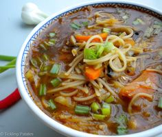 Just fall in love with these healthy vegetarian soup recipes. Healthy vegetable soup is the easiest & satisfying way to keep your tummy happy the whole day. Healthy Soup Vegetarian, Vegetarian Recipes, Healthy Recipes, Vegetable Noodle Soup, Soup Recipes, Cooking Recipes, Chinese Vegetables, Asian Soup, Pasta