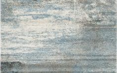 Blue And Grey Area Rugs Safavieh Tahoe Tah479d Light Blue, Grey 4' X 6' Rug   Contemporary