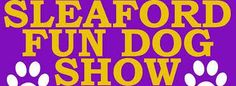 Sleaford Dog Show 1st June- I am going