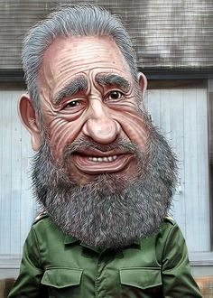 caricature of fidel castro Cartoon Faces, Funny Faces, Cartoon Art, Cartoon Characters, Caricature Artist, Caricature Drawing, Funny Caricatures, Celebrity Caricatures, Fidel Castro