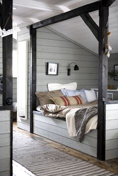 *THE ESSENCE OF THE GOOD LIFE™*: A BOAT HOUSE BECAME A RUSTIC SUMMER HOUSE WITH THE OCEAN AS A NEIGHBOR
