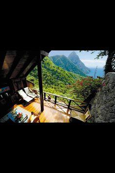 Resort Ladera a Santa Lucia Santa Lucia, Chalet Zermatt, Ski Chalet, Ladera Resort St Lucia, World's Most Beautiful, Beautiful Places, Stunning View, Amazing Places, Beautiful Hotels