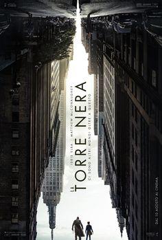 La Torre Nera poster italiano ufficiale