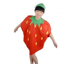 Kids Fancy Dresses Collection 2016 - Baby Fruit Fancy Dress, Kids Fancy Costumes, Strawberry Fancy Outfits, Children Halloween Costumes, fruits costumes india, Fancy Dress Costumes India,  fruits costume for kids, school fancy dress costumes, fancy dress outfits for school competition