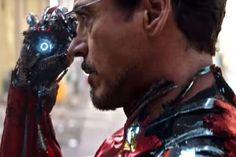 Avengers: Infinity War- Tony Stark in the new prime armor