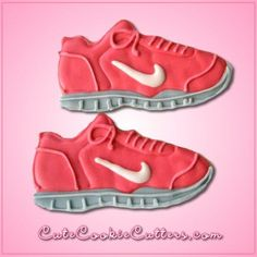 After you've donned your sneakers for a good workout, you deserve a treat! Bake up some cookies with the Tennis Shoe Cookie Cutter to reward yourself! Constructed out of tin-plated steel, the cutter i