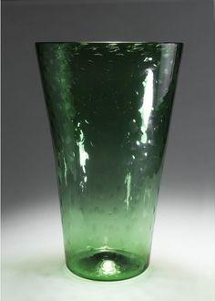 Carlo Scarpa; Large Glass Vase for venini & Co. 1936.