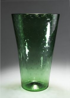 Carlo Scarpa; Large Glass Vase for venini & Co. 1936.