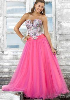 Bling Bling Prom Dress