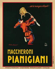 Pianigiani Vintage Poster