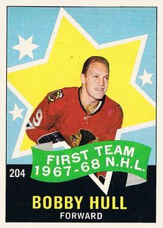 Hockey Cards, Baseball Cards, Frozen Four, Bernie Parent, Minnesota North Stars, Bobby Hull, Slap Shot, Sports Highlights, Los Angeles Kings