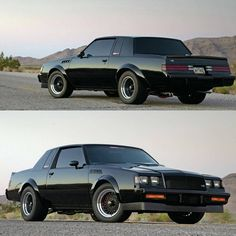 Mean Buick GNX! by classiccarsworld Sexy Cars, Hot Cars, Buick Grand National Gnx, National Car, Chevy Ss, Chevy Monte Carlo, Gm Car, Buick Skylark, Buick Regal